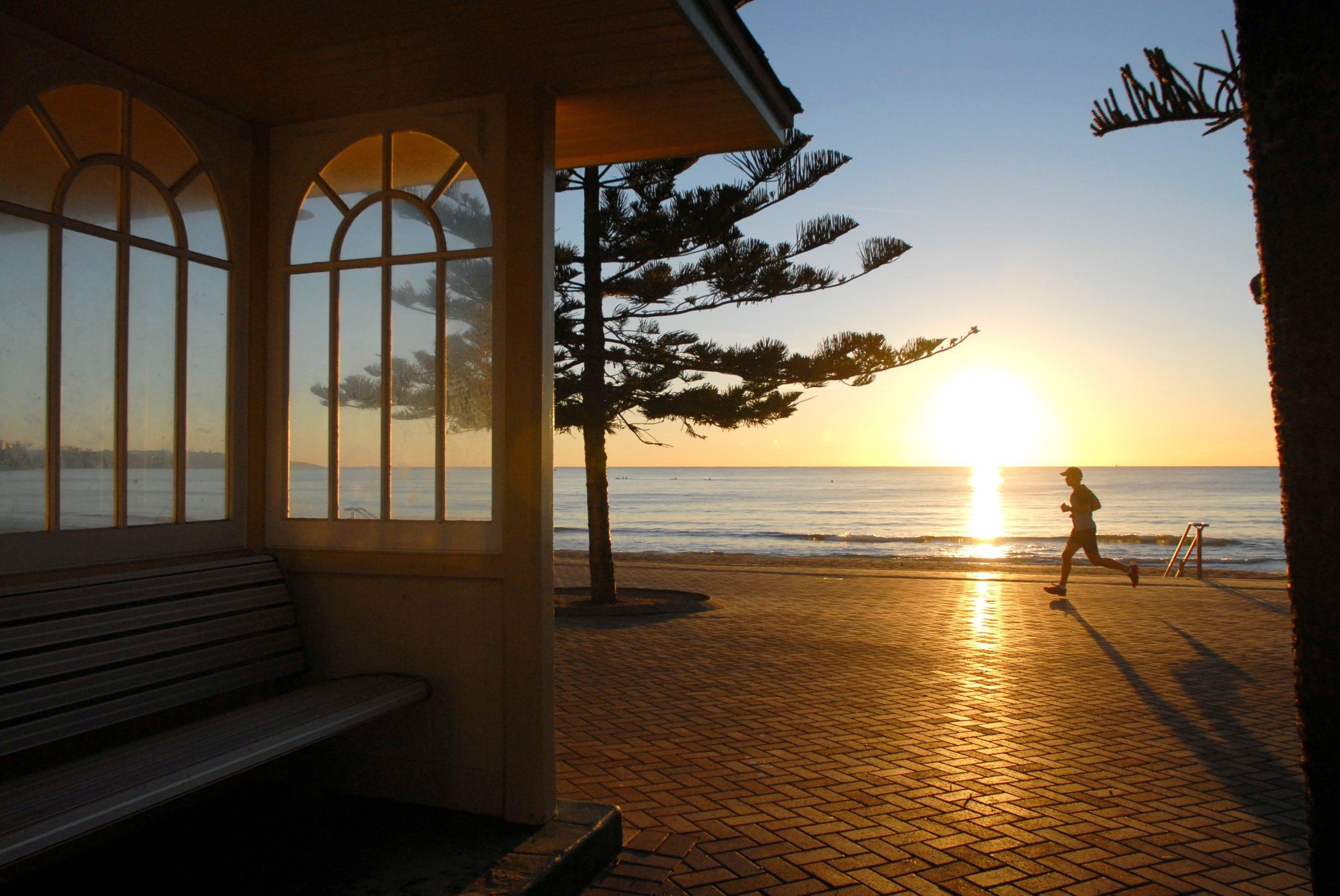 Free stock photo of australia, beach, bench, exercise