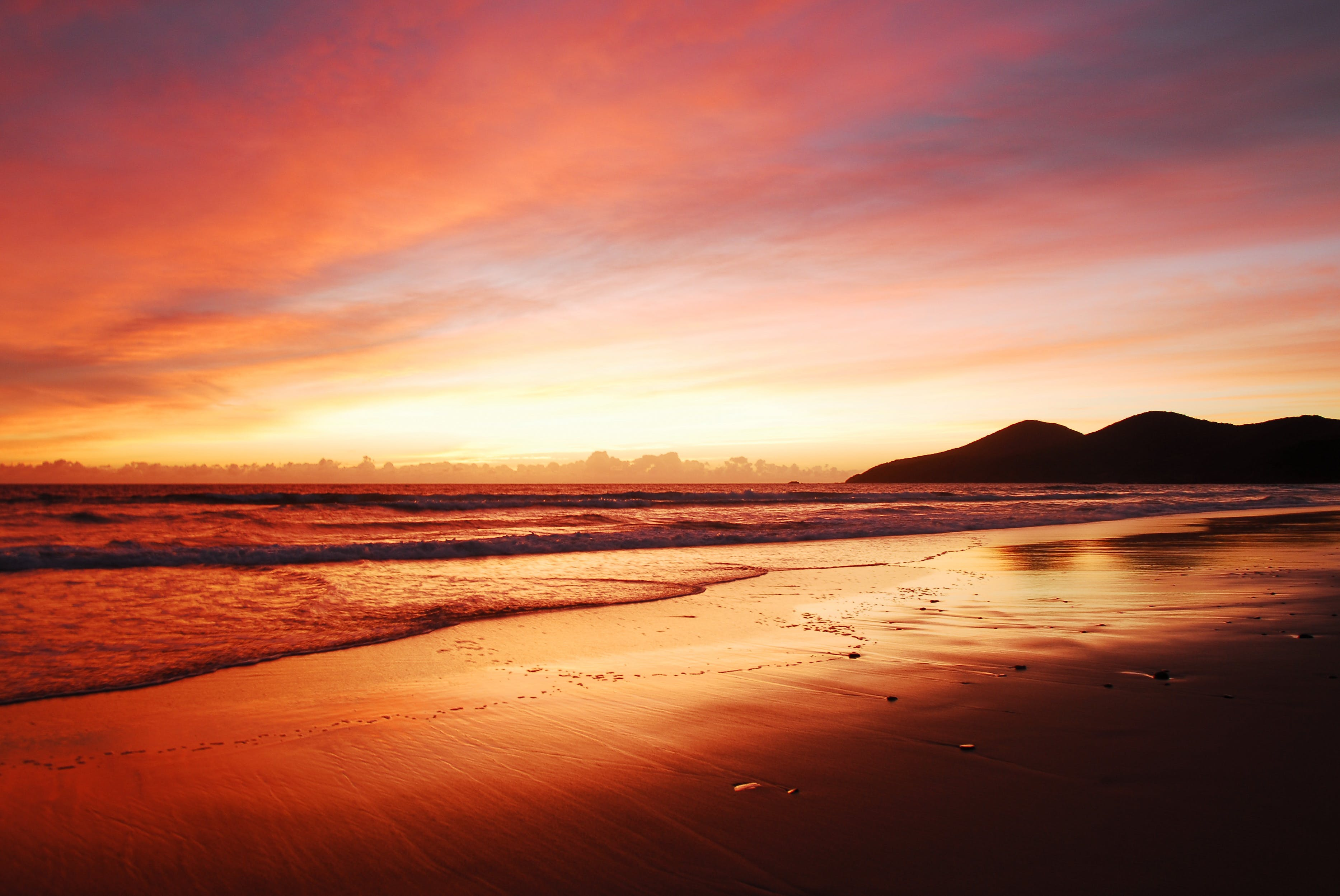Free stock photo of beach, Forster, mountains, New South Wales