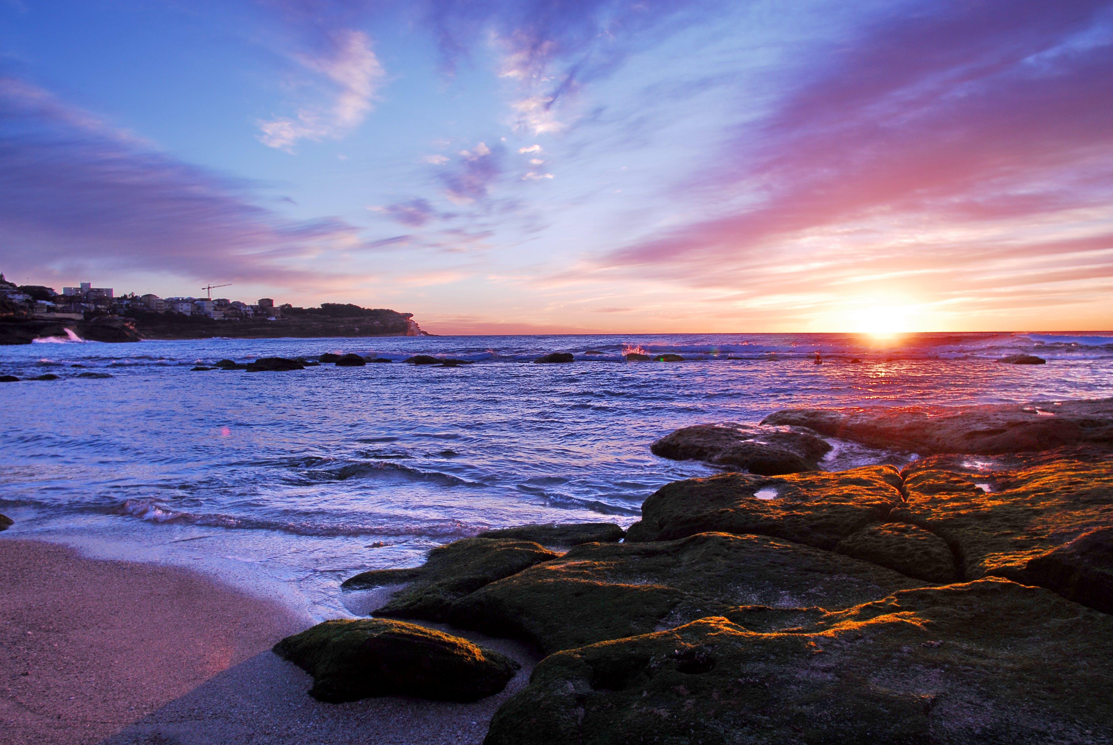 Free stock photo of beach, ocean, australia, sunrise
