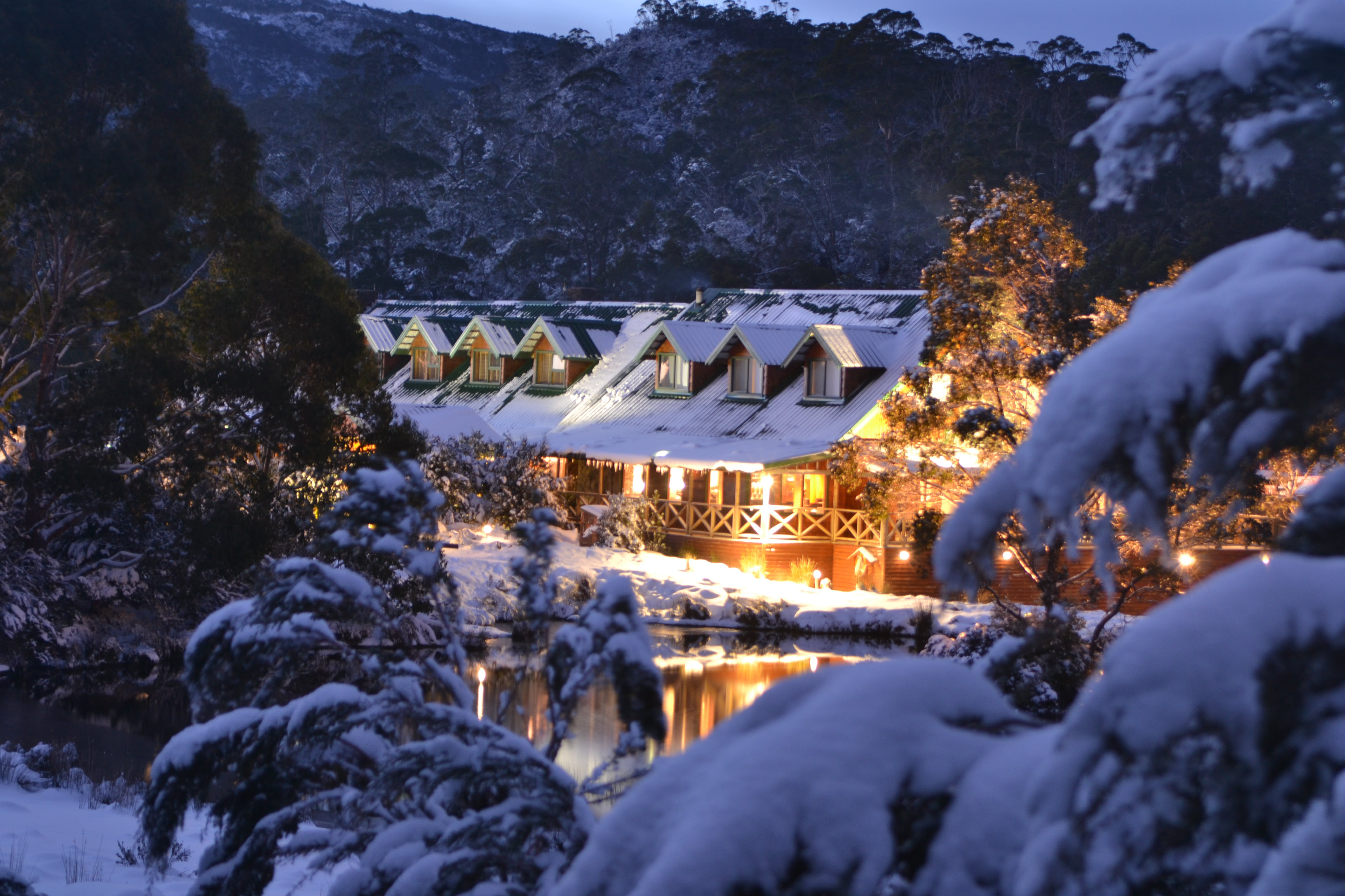 Free stock photo of australia, Cradle Mountain Lodge, lodge, snow