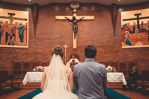 Free stock photo of church, just married, wedding