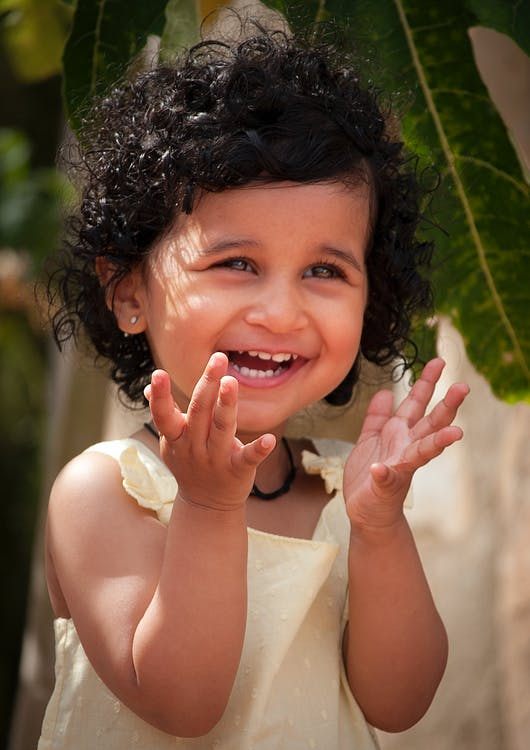 Foto stok gratis gadis bahagia