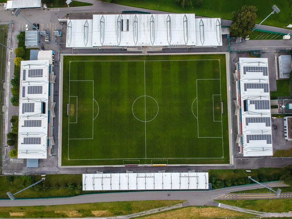 Aerial Photo of Green Field