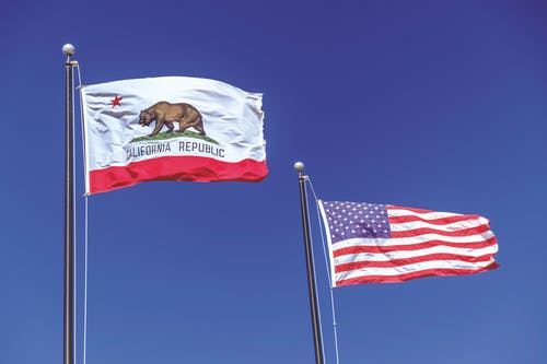 Free stock photo of california flag, flags, Republic of California, US Flag