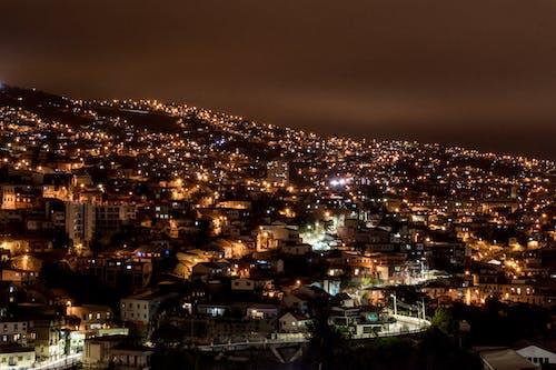 Free stock photo of night lights