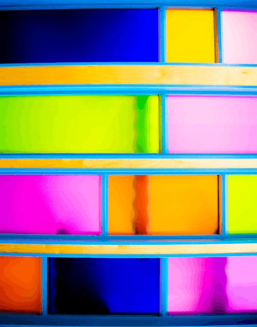 彩虹的顏色, 色格, 顏色 的 免費圖庫相片