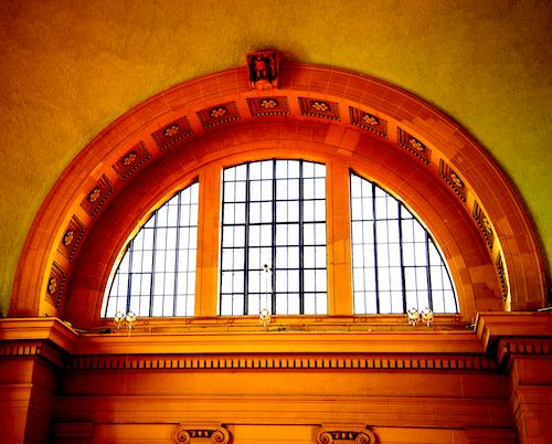 拱形窗, 火車站, 玻璃窗, 窗 的 免費圖庫相片