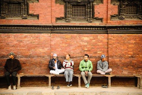 Gratis lagerfoto af mænd, murstensvægge, Nepal, nepalesisk