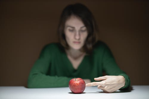 Foto stok gratis apel, buah, kaum wanita, makanan