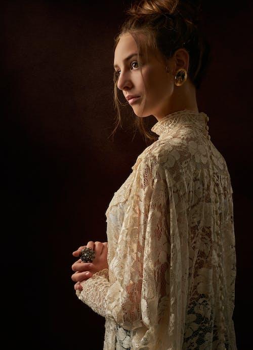 Ingyenes stockfotó divatos, ékszerek, elnéz, nő témában