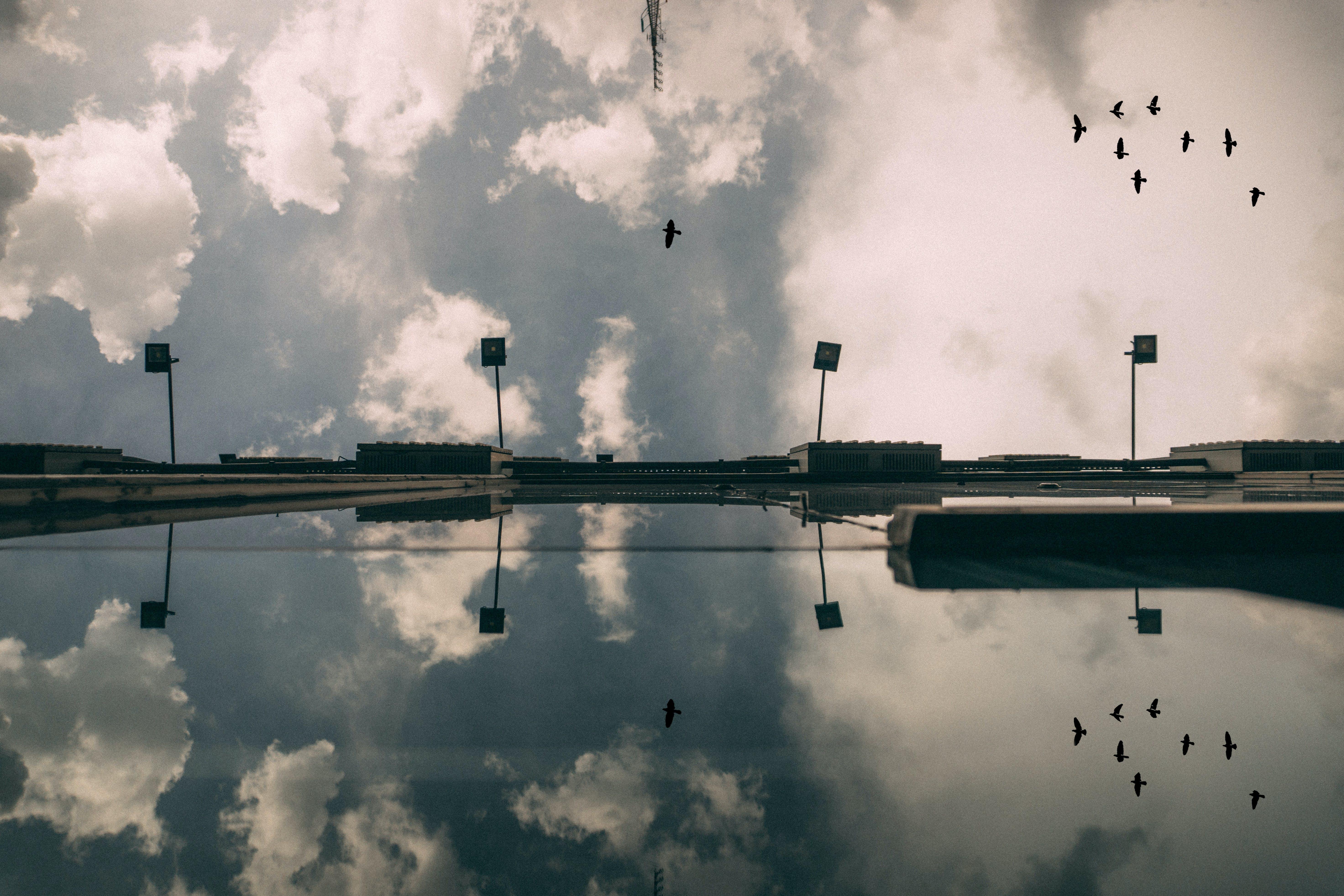 가벼운, 건물, 경치, 구름의 무료 스톡 사진