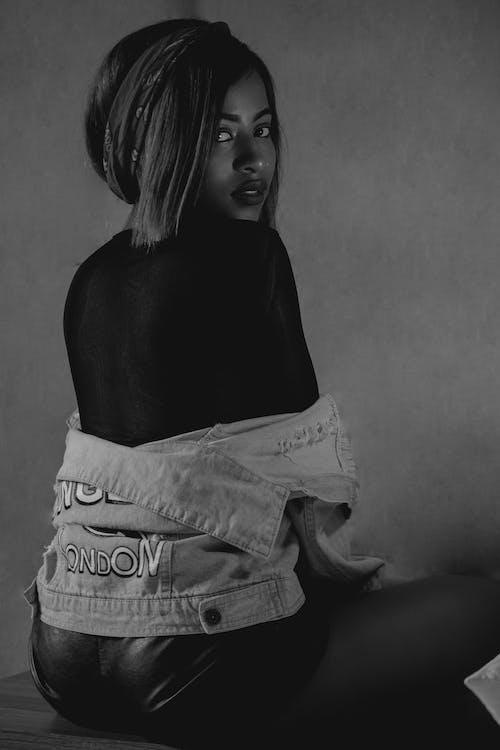 生活方式, 肖像, 運動衫, 非洲女人 的 免費圖庫相片