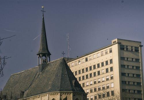 Free stock photo of church tower, leuven, town center