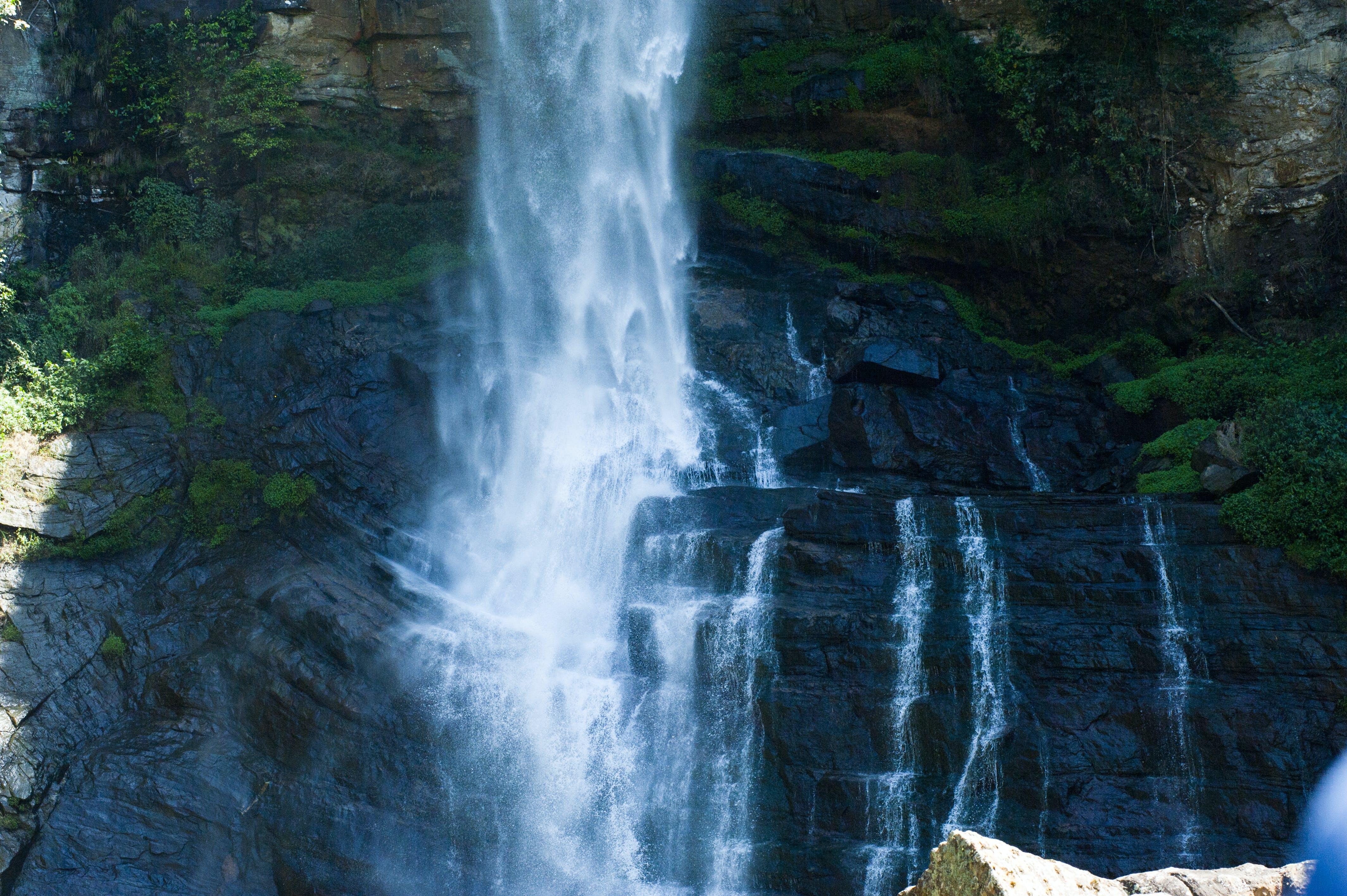 água, cachoeira, cachoeiras