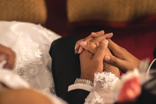 Free stock photo of hands, wedding