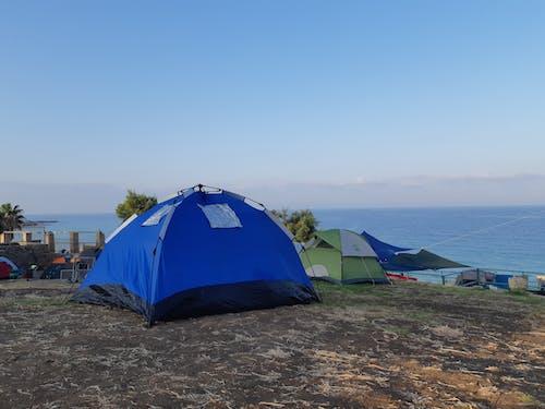 Free stock photo of beach, camping, israel