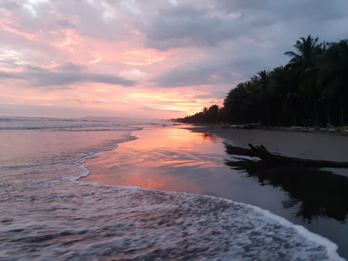 Free stock photo of beach, caribean sunset, costa rica