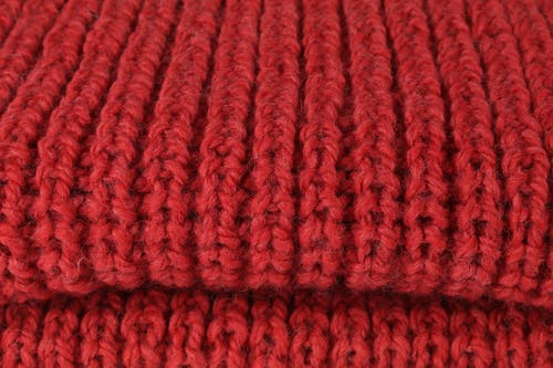 Free stock photo of knitwear, red, scarf