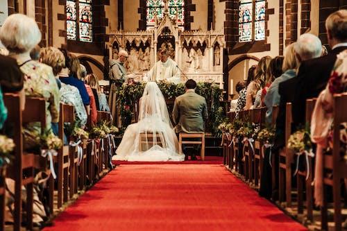 Fotos de stock gratuitas de alfombra, blanco, Boda, bodas