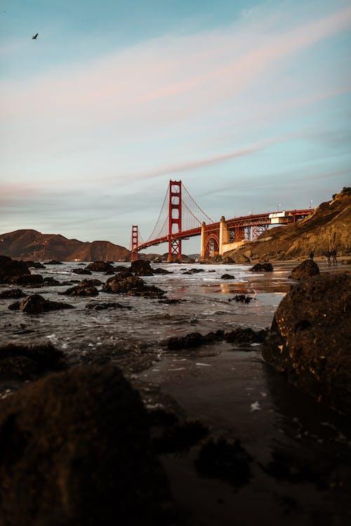 Brown Metal Bridge