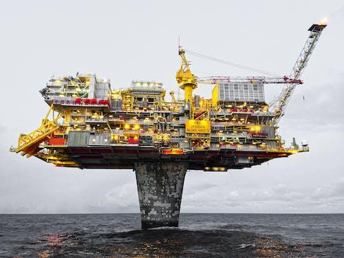 Yellow and Black Ship on Sea