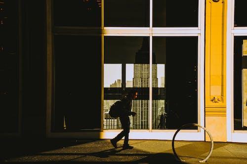 Person Near Building