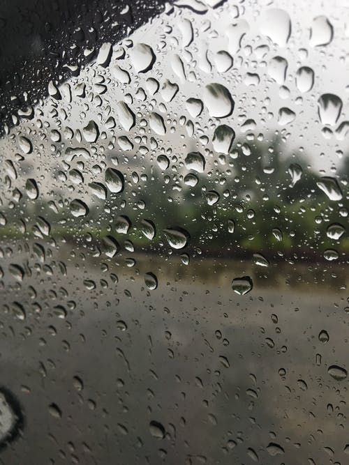 Free stock photo of car mirror, car window, mobile photography, raining