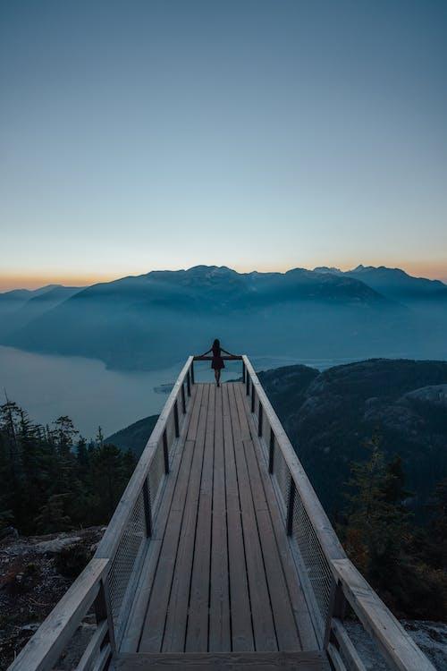 Photo Of Person On Bridge