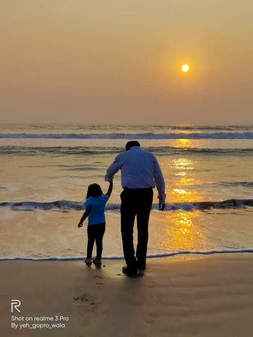 Photos gratuites de beau coucher de soleil, coucher de soleil, coucher de soleil sur la plage, famille