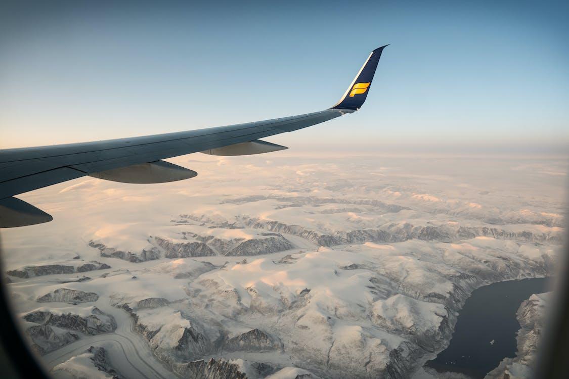 An Airplane On Flight