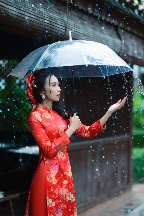 亞洲女人, 亞洲女孩, 傳統, 傳統服飾 的 免費圖庫相片