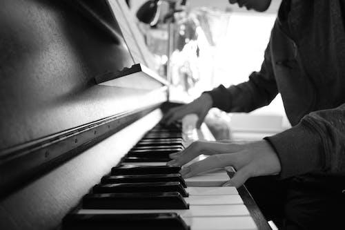 Free stock photo of piano, piano keys