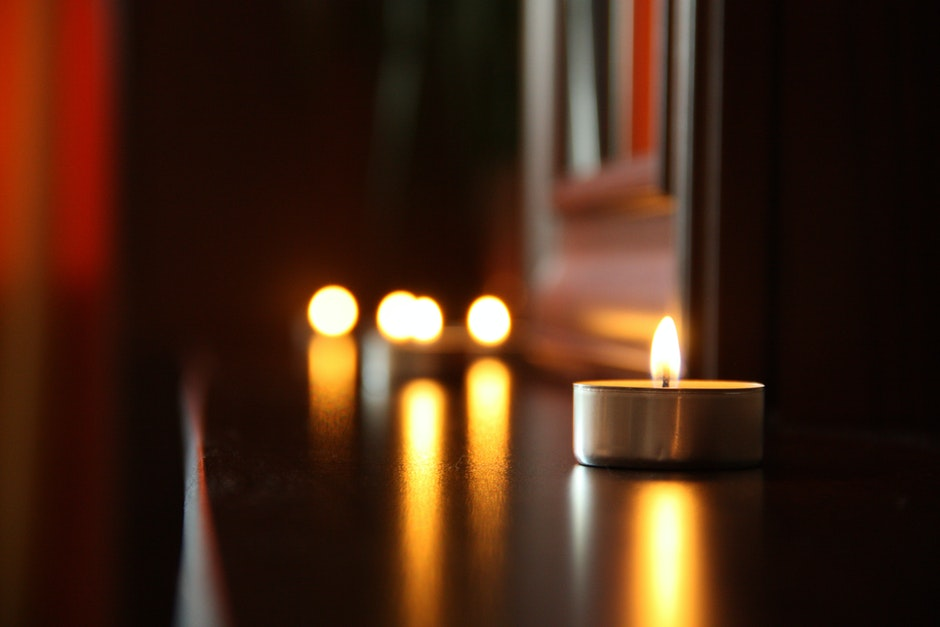 candlelight, candles, date
