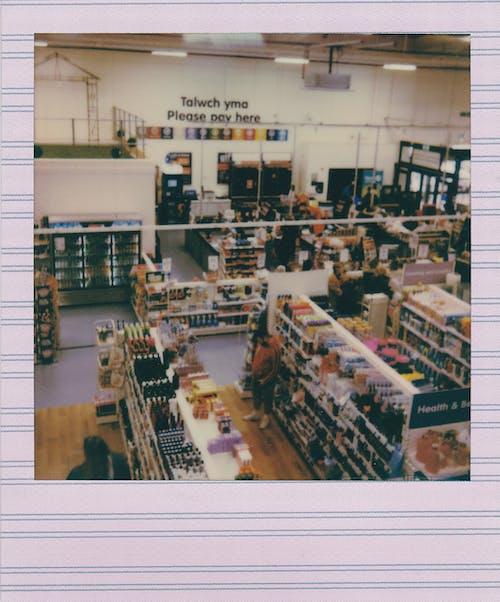 Polaroid Photo Of A Store
