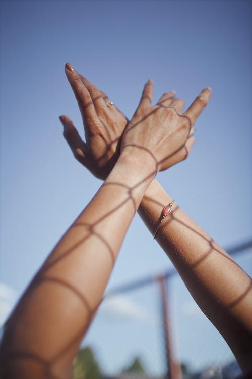 손, 피부의 무료 스톡 사진