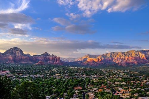 Ilmainen kuvapankkikuva tunnisteilla arizona, auringonlasku, punakivi, sedona