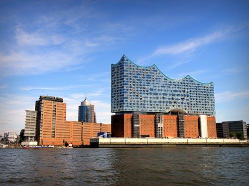Immagine gratuita di amburgo, edifici, metropoli, vista
