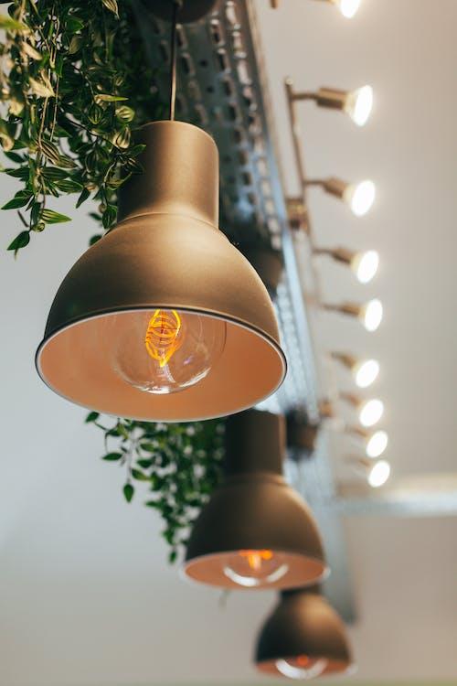 Kostenloses Stock Foto zu architektur, beleuchtung, design, drinnen