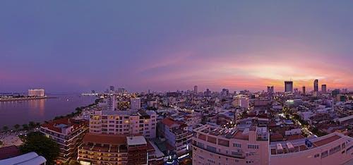 アジア, カンボジア, シティ, スカイラインの無料の写真素材
