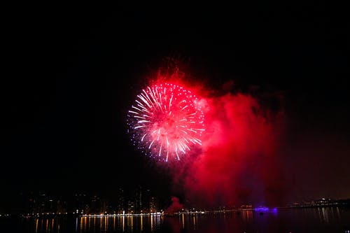 Free stock photo of bright, bright colours, dubai, firework