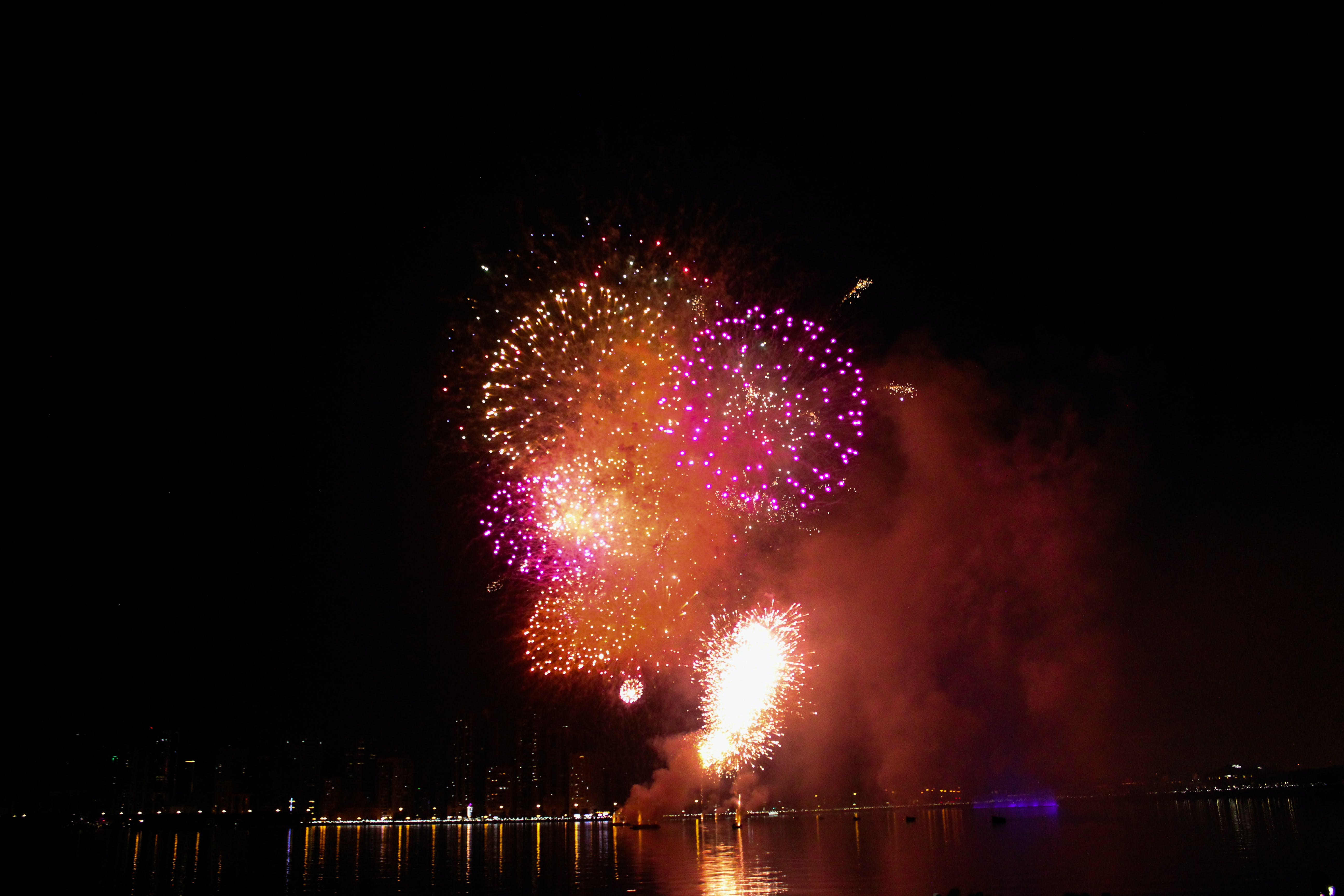 Free stock photo of dubai, firework, fireworks, new year