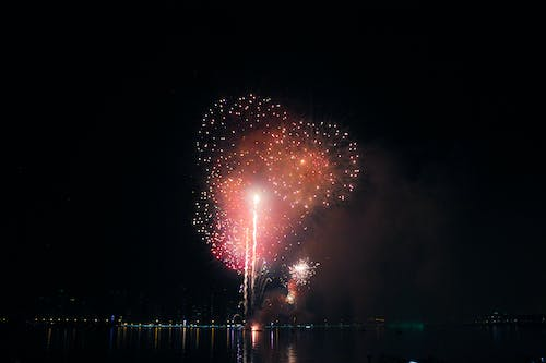 Free stock photo of dubai, firework, fireworks, night lights