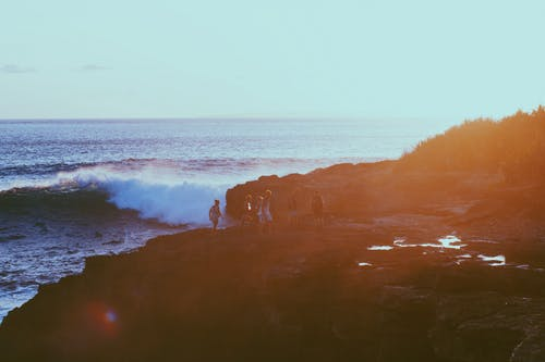 Kostenloses Stock Foto zu bali, indonesien, sonnenuntergang, strand