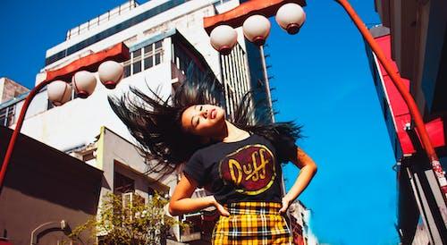 Foto profissional grátis de #liberdade #moda #japan #model #girl, ao ar livre, atraente, cabelo