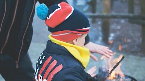 คลังภาพถ่ายฟรี ของ กองไฟ, การกระทำ, การพักผ่อนหย่อนใจ, การเผาไหม้