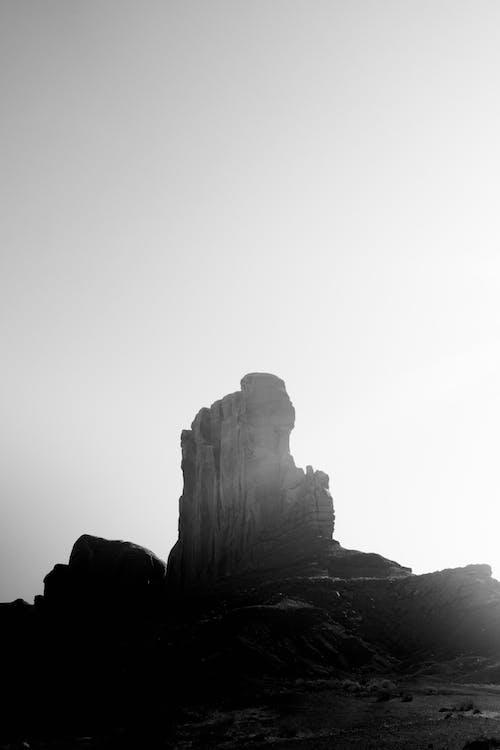 Gratis arkivbilde med bergformasjon, dunkel, erosjon, geologi