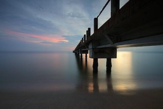 Lizenzfreie Bilder zu licht, meer, dämmerung, landschaft