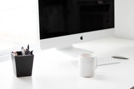 coffee, mug, desk