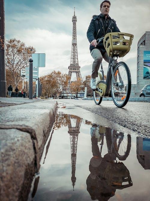Gratis arkivbilde med eiffeltårnet, frankrike, paris, streetphotographer