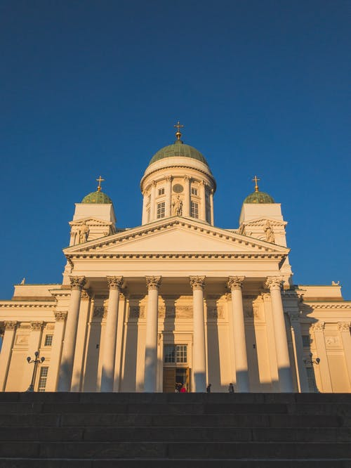 Foto profissional grátis de arquitetura, catedral, construção, Finlândia
